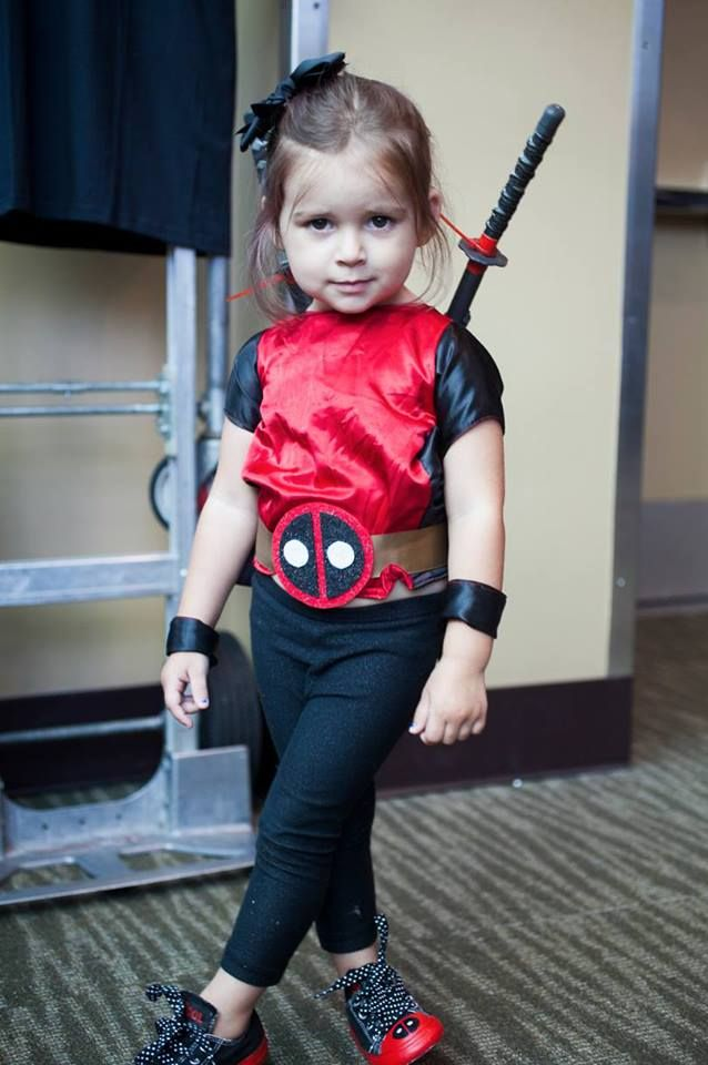 Meanwhile, In Amazing Crossplay: Princess Deadpool... This is how my daughter will dress ha