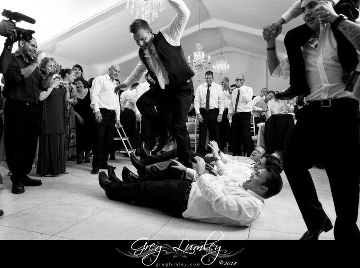 Jewish Wedding at Lourensford Wine Estate.  Horah.