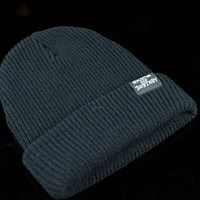 Thrasher Skate And Destroy Beanie Black One Size Fits All