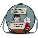 Olympia Le-Tan Embroidered Cotton Psychiatric Help Shoulder Bag