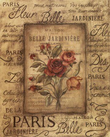 Kimberly Poloson - Bel Bouquet I Umělecké plakáty na AllPosters.cz.