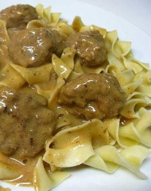 Recipe for Swedish Meatballs - These meatballs are very easy to make at home. Cooked and served in a beefy, creamy gravy.