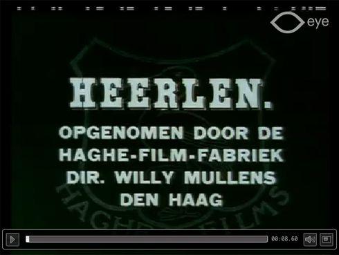 Documentaire over Heerlen in 1922 te bekijken