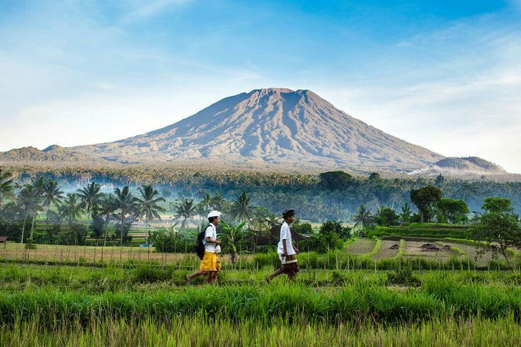 Mont Agung #bali 3400 meters above the sea