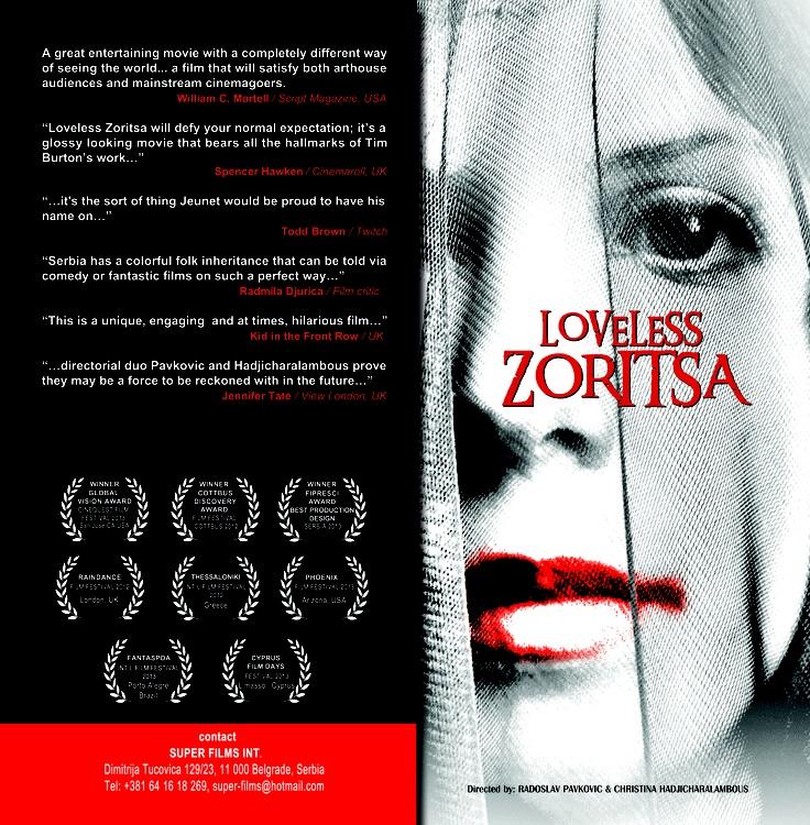 """Loveless Zoritsa"" press kit"