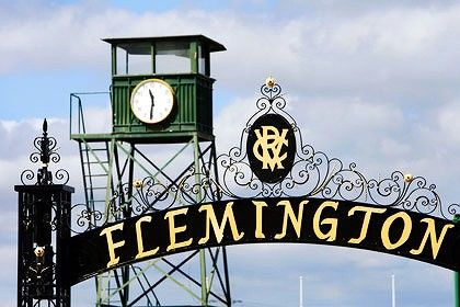Flemington Racecourse Melbourne Victoria Australia