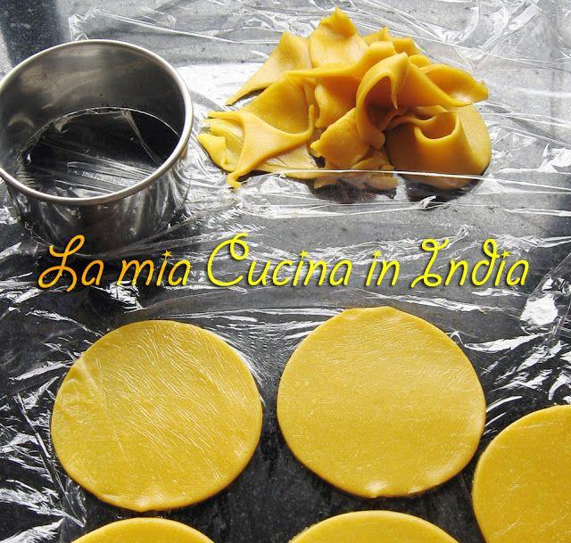 La mia cucina in India: cucina molecolare ossia come fare la pasta con la farina di ceci