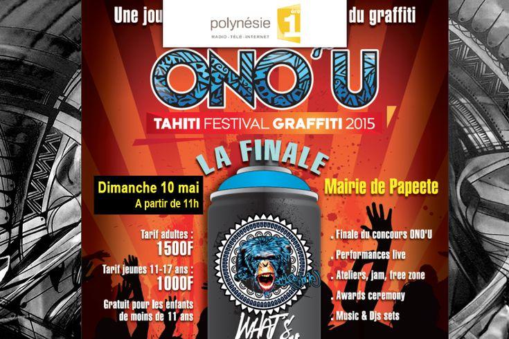 ONO'U – Festival international de Graffiti à Tahiti