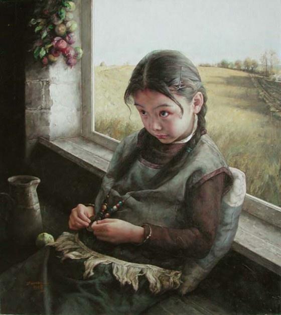 zhao kai linKailin Chine, Art Iii, Painting Art, Chinese Art, Chine Painting, Chine Artists, Oil Painting, Zhaokailin2Jpg 576646, Zhao Kailin