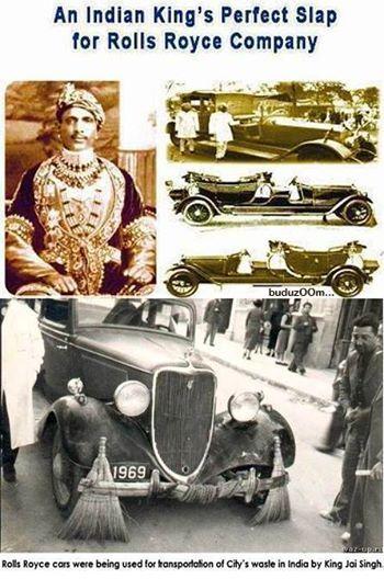 King Jai Singh On His Visit To London Was Walking In