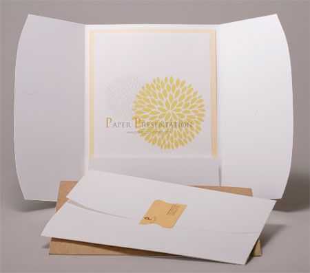 find this pin and more on promo portfolio resume by katmcgrawdesign folders from paper presentation