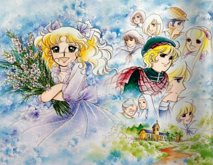 """Memories of my childhood cartoon """"Candy Candy"""""""