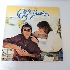 "Captain & Tenille Song of Joy Album 12"" LP Vtg 1976 A & M Record Fold Out Cover"