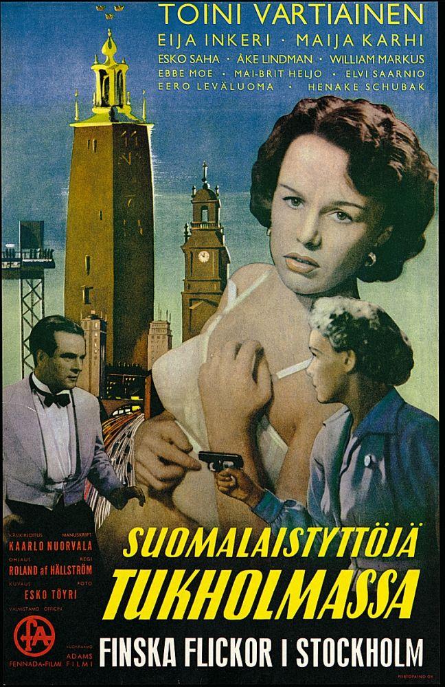 Suomalaistyttöjä Tukholmassa (1952)