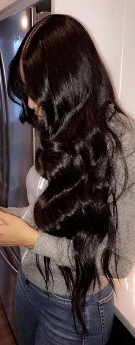 50+ trendy hair extensions weft body wave