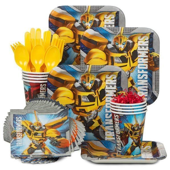 Check out Transformers Birthday Party Standard Tableware Kit Serves 8 - Wholesale Party Supplies from Wholesale Party Supplies