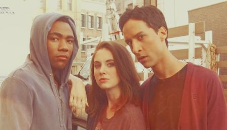 Troy and Abed and Annie in the morrrrrning