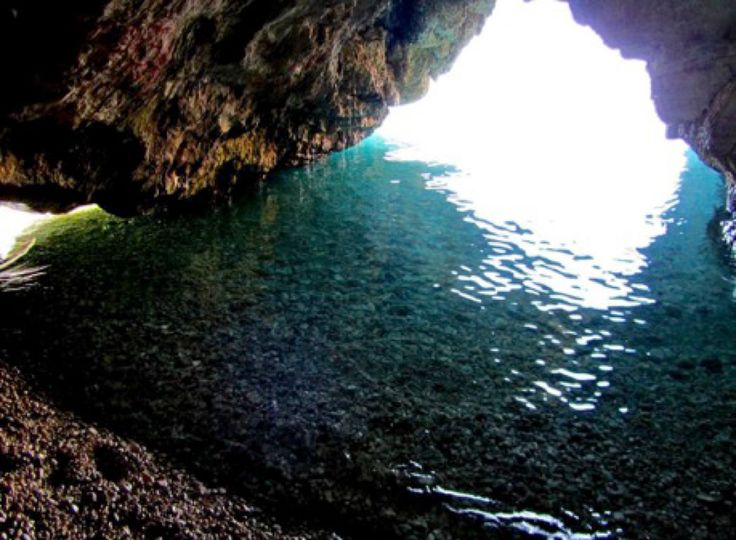 Dafnoudi in Greece has stunning grottos and caves to explore.