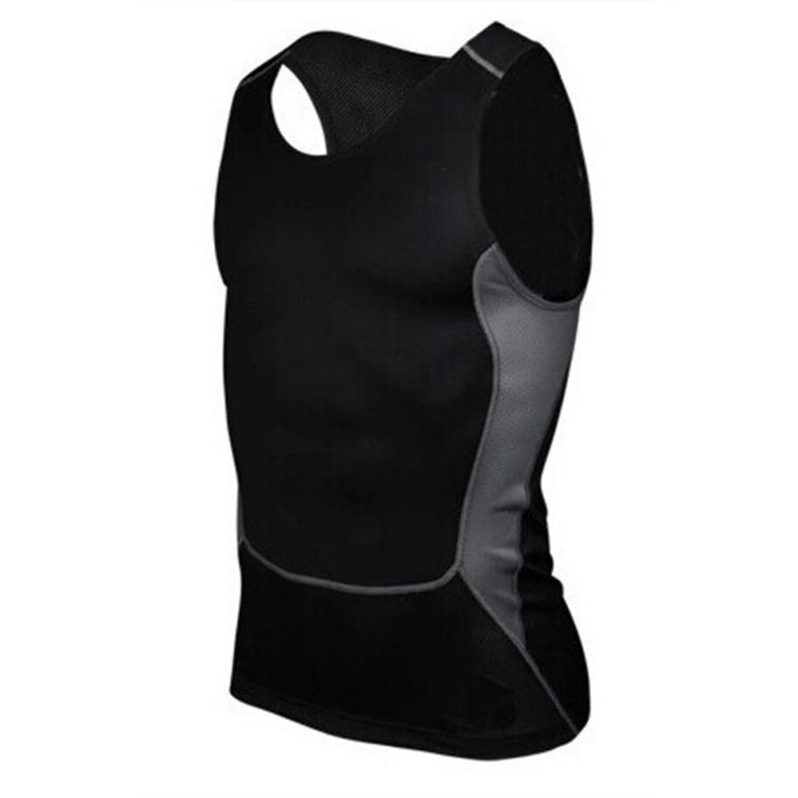 Men Compression Tight Base Layer Boy Gym Exercise Slim Vest Tops Size S-XXL New Arrival