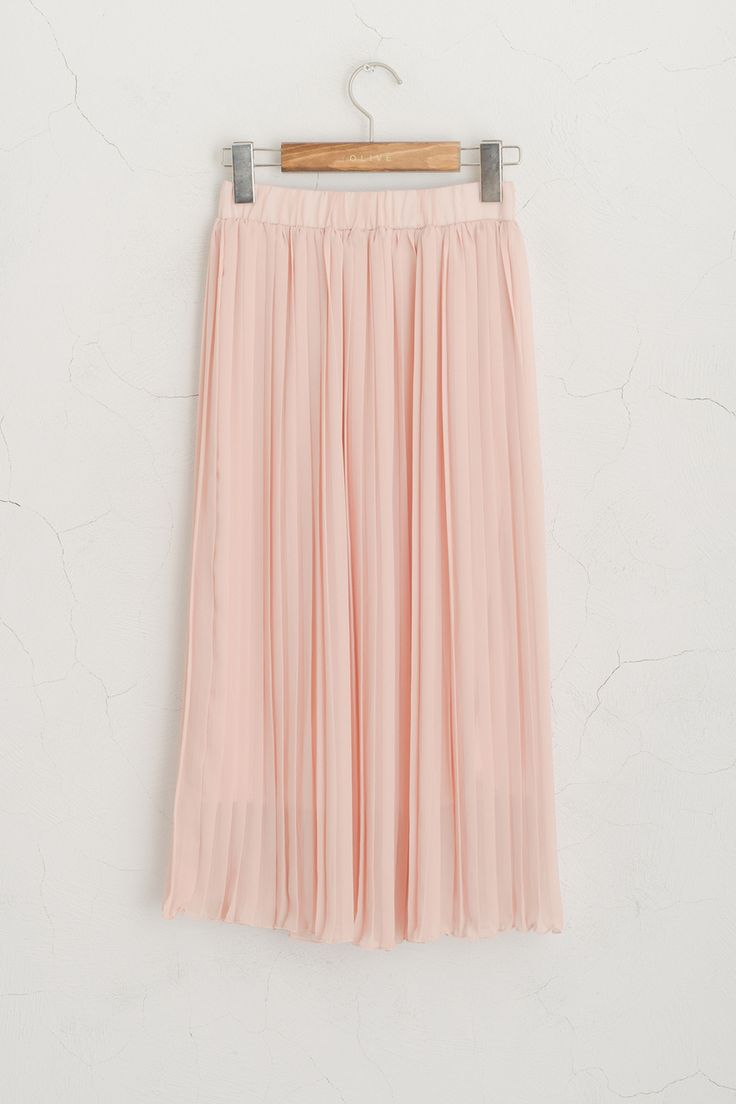 olive pleated skirt light pink 163 32 00 http www