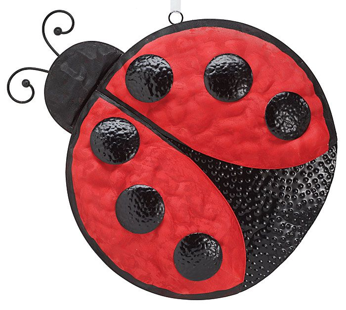 Our Burtonandburton Handpainted Wooden Ladybug Wall Hanger Is Sure To Decorate Any Wall In Your