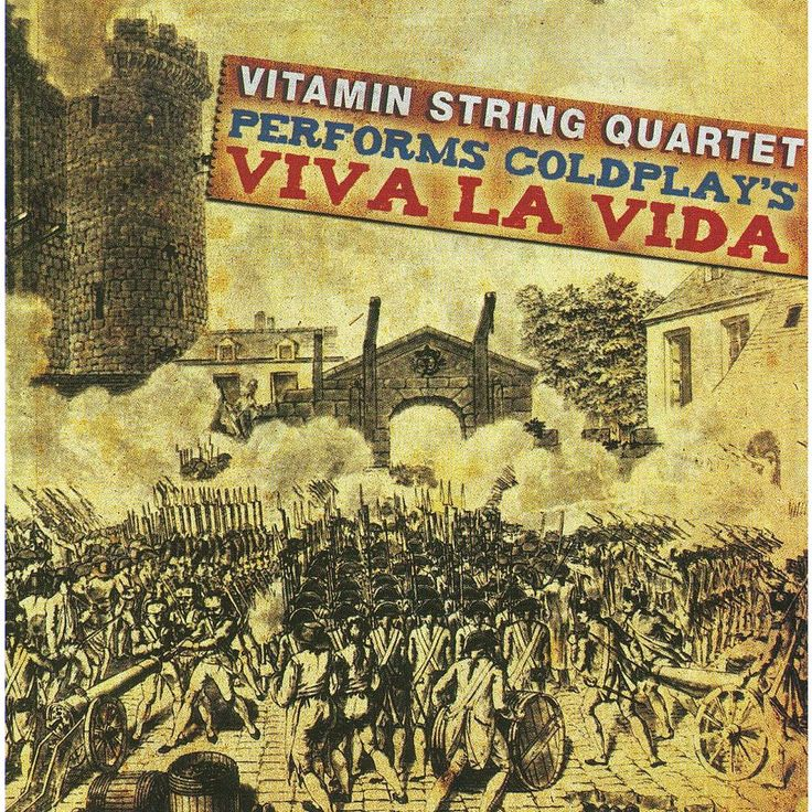 Vitamin string quart - Vitamin string quartet coldplay's viv (CD)
