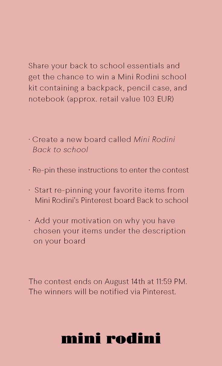 #minirodini #backtoschool