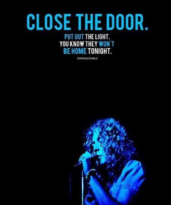 Robert Plant -- Led Zeppelin -- No Quarter