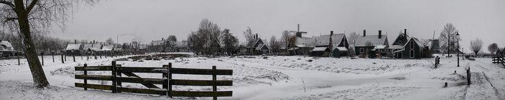 winter schans   panorama - #zaanseschans