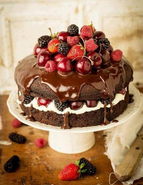 Martha Stewart Black Forest Brownie Cake Recipe