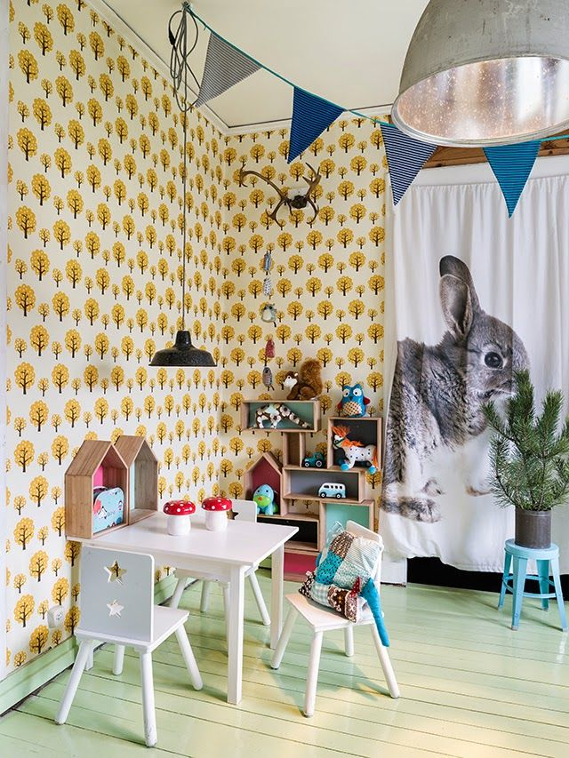 Scandanavian kids room inspiration