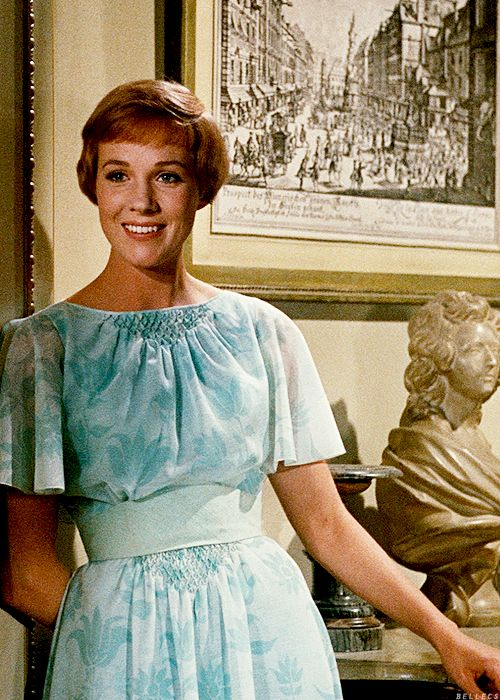 Julie Andrews, The Sound of Music - a favorite classic of mine!