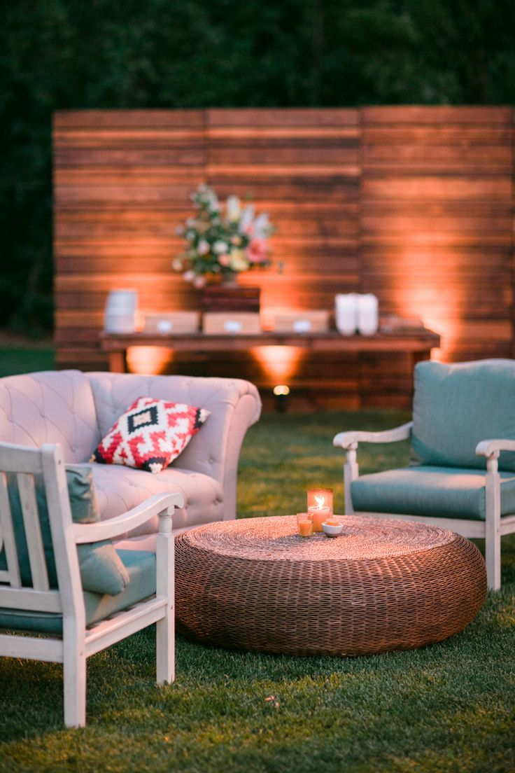 Outdoor Wedding - Outdoor Furniture Rental - Image by Michelle Beller - 69 Best Outdoor Furniture Rental Images On Pinterest Backyard