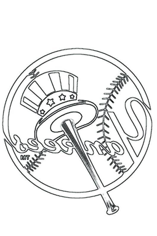 New York Yankees Coloring New York Yankees New York Yankees Logo Yankees