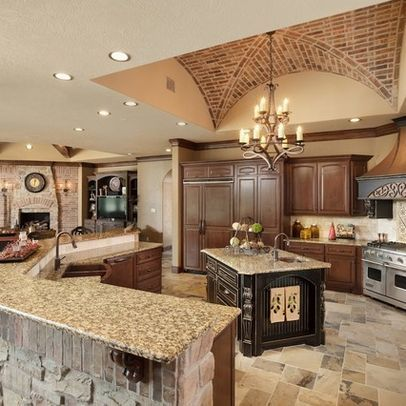 Mediterranean Home Design Ideas for a new kitchen with LG Black Stainless Steal Appliances! #LGLimitlessDesign #Contest