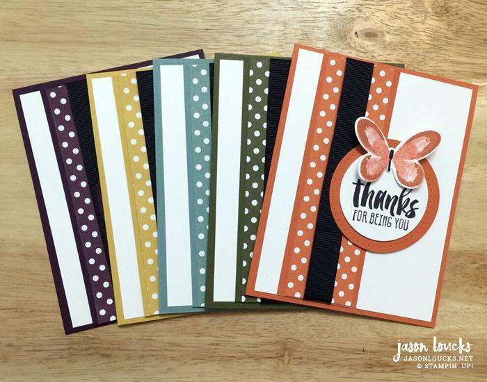 2014-2016 In Color Card Set | Handmade by Jason Loucks - JasonLoucks.net #jasonshandmade #stampinup