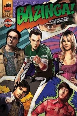 The Big Bang Theory Bazinga Poster