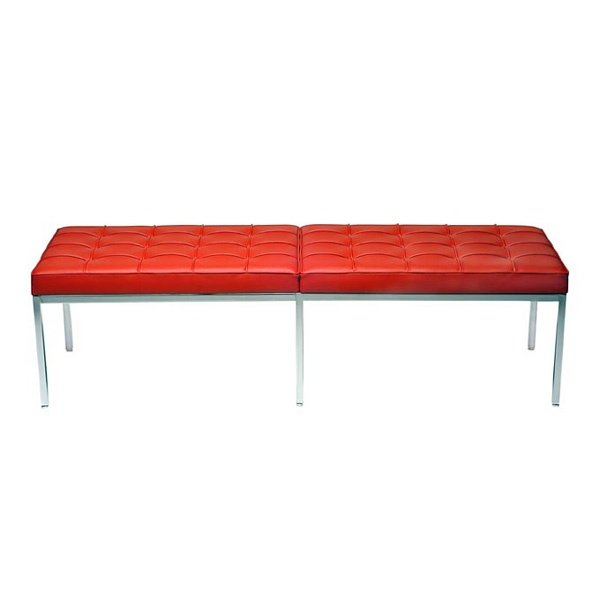 FLORENCE KNOLL BENCH (3 PERSON)