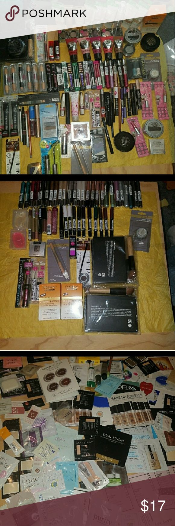 Makeup Bundle of 4 items Makeup Bundle of 4 New Sealed makeup  items please message below what you would like to see individually so you can pick out what you wantNo Holds Have hard candysome loreal some almay and a mix of other brands Feel Free to Ask Questions! have around160plus makeup  items to choose from! Pick Any You like!! Makeup