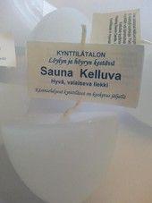 Kelluva saunakynttilä | sisustusjadelin.fi