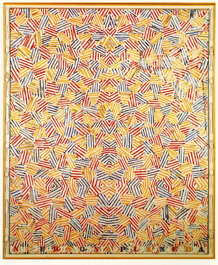 Dancers on a Plane - Jasper Johns