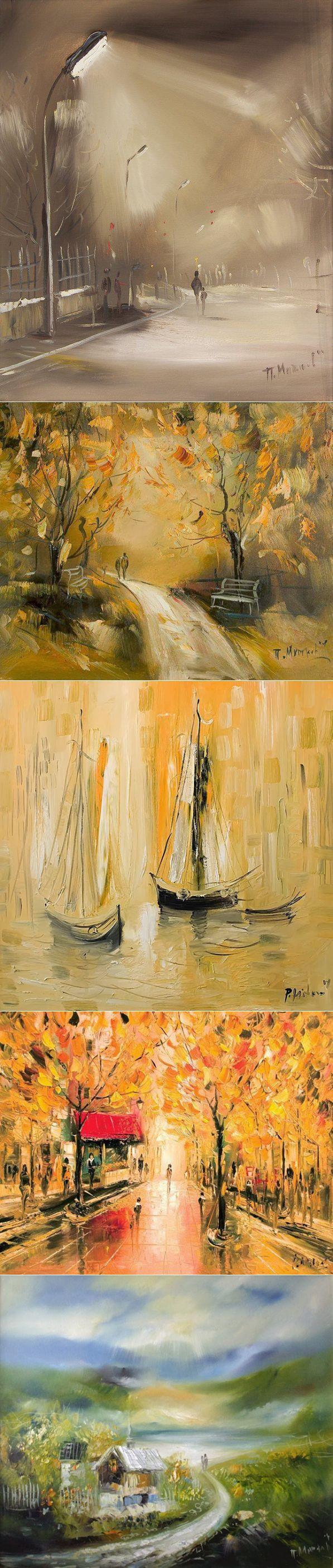 Болгарский художник Павел Митков | Интересные Картинки. Фотографии, обои на рабочий стол, рисунки и графика