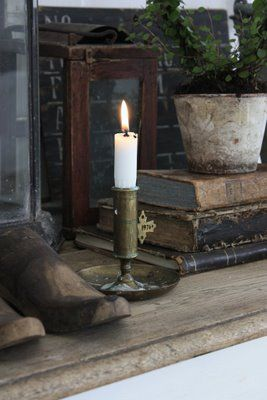 candle light & books...