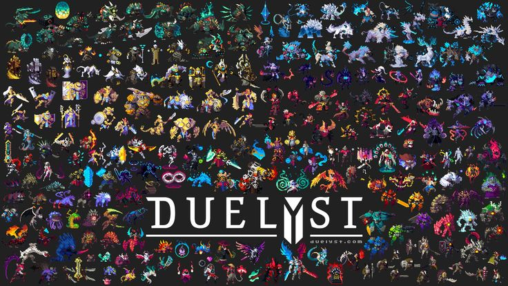 Moar 150+ Duelyst Units in 3 Minutes