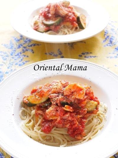 愛デア!ナンプラーで極上トマトパスタ by Oriental Mamaさん   レシピ ...