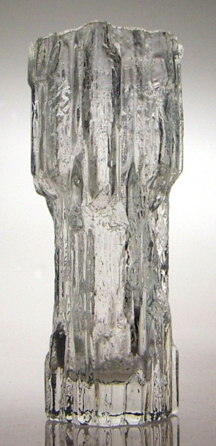 Tapio Wirkkala, Avena vase for Iittala, 1970. I have this vase in my Finnish glassware when I got married in 1977.