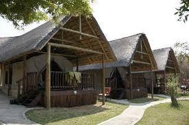 Sabie River Bush Lodge budget tents.