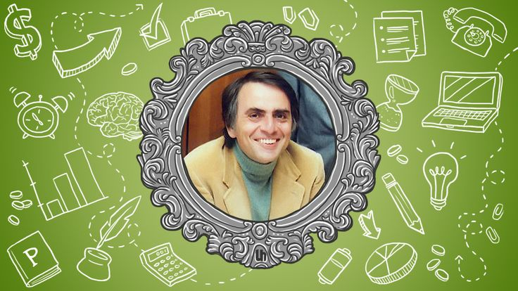 Carl Sagan is a well known astronomer, cosmologist, author, and most obviously, science communicator and host of the show Cosmos. His views on science and general living are simultaneously inspirational and galvanizing. Let's take a look at just a few of his ideas that are useful for all of us.