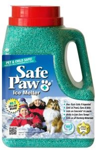 With all this cold weather, be sure to think of your pets! Some salts used to melt ice can harm your pets feet.  Look for pet safe methods like this one.  www.SPCAmc.org