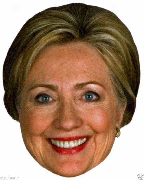 Hillary Clinton: Hillary Clinton 2016 Democratic Presidential Race -Big Head Window Cling Sticker -> BUY IT NOW ONLY: $6 on eBay!